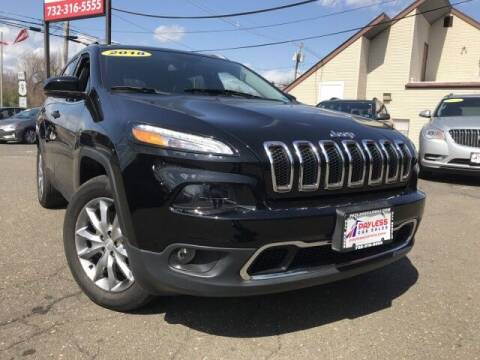 2018 Jeep Cherokee for sale at PAYLESS CAR SALES of South Amboy in South Amboy NJ
