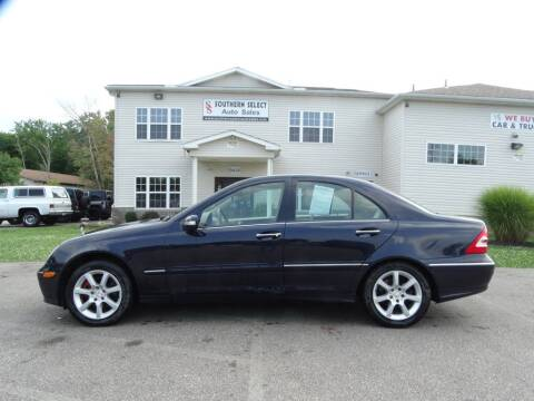 2007 Mercedes-Benz C-Class for sale at SOUTHERN SELECT AUTO SALES in Medina OH