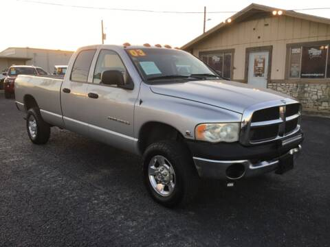2003 Dodge Ram Pickup 3500 for sale at The Trading Post in San Marcos TX