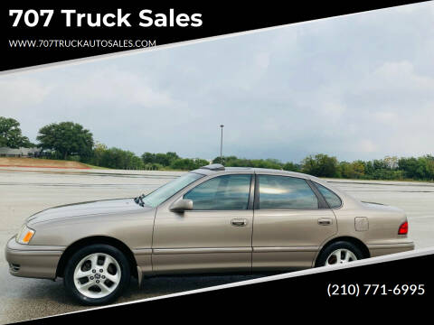 1999 Toyota Avalon for sale at 707 Truck Sales in San Antonio TX