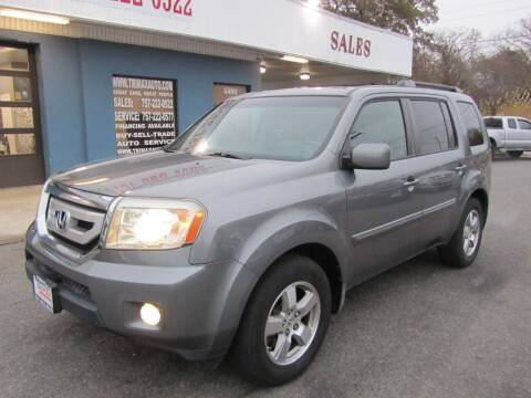 2009 Honda Pilot for sale at Trimax Auto Group in Norfolk VA