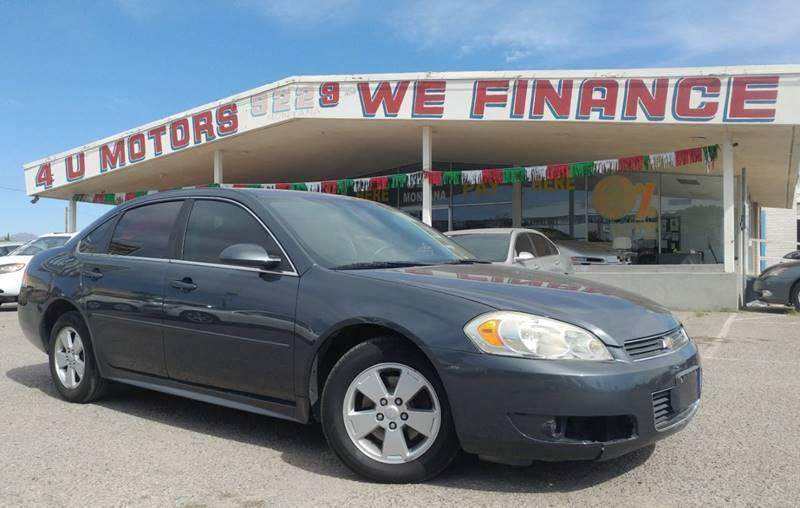 2010 Chevrolet Impala for sale at 4 U MOTORS in El Paso TX