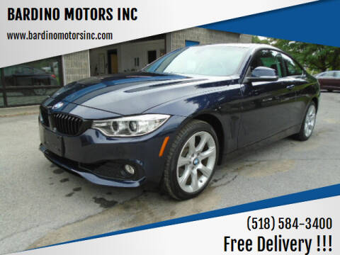 2015 BMW 4 Series for sale at BARDINO MOTORS INC in Saratoga Springs NY