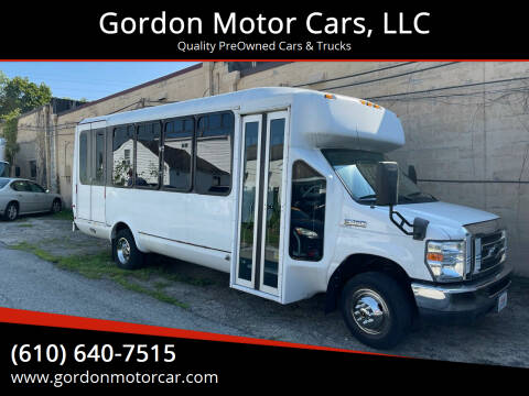 2013 Ford E-Series Chassis for sale at Gordon Motor Cars, LLC in Frazer PA