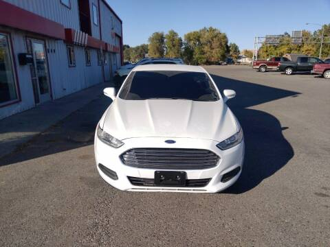 2016 Ford Fusion for sale at Berry's Cherries Auto in Billings MT