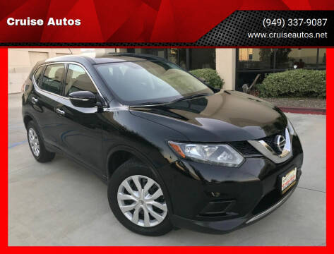 2014 Nissan Rogue for sale at Cruise Autos in Corona CA