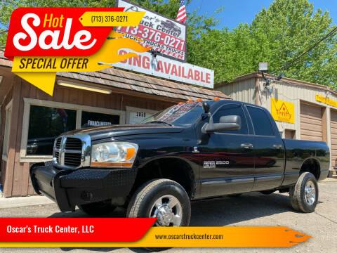 2006 Dodge Ram Pickup 2500 for sale at Oscar's Truck Center, LLC in Houston TX