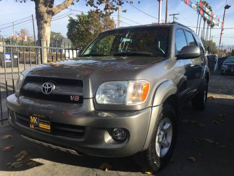 2007 Toyota Sequoia for sale at MK Auto Wholesale in San Jose CA