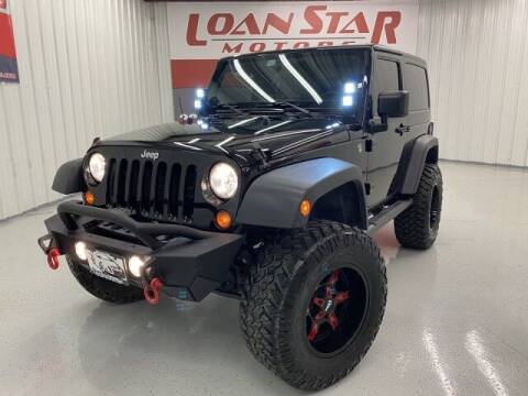 2013 Jeep Wrangler for sale at Loan Star Motors in Humble TX