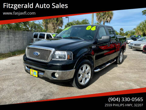 2006 Ford F-150 for sale at Fitzgerald Auto Sales in Jacksonville FL