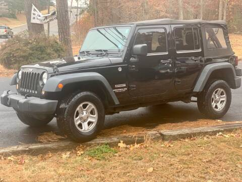2015 Jeep Wrangler Unlimited for sale at XCELERATION AUTO SALES in Chester VA