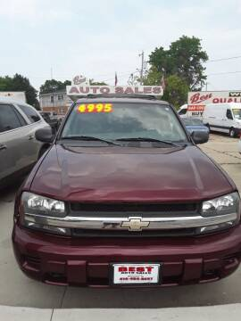 2004 Chevrolet TrailBlazer for sale at Best Auto & tires inc in Milwaukee WI