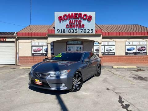 2013 Lexus ES 350 for sale at Romeros Auto Center in Tulsa OK