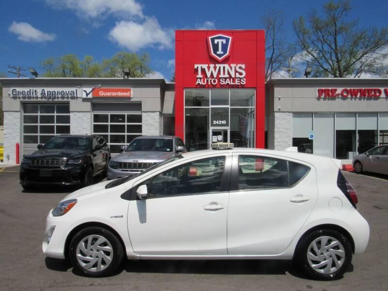 2015 Toyota Prius c for sale at Twins Auto Sales Inc in Detroit MI