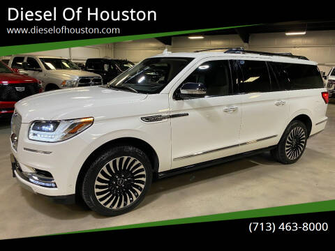 2020 Lincoln Navigator L for sale at Diesel Of Houston in Houston TX