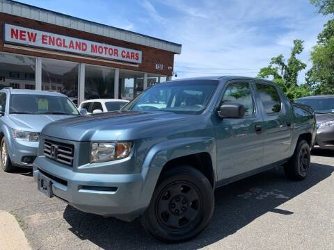 2008 Honda Ridgeline for sale at New England Motor Cars in Springfield MA