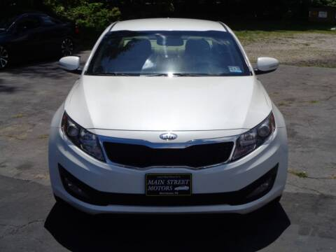 2013 Kia Optima for sale at MAIN STREET MOTORS in Norristown PA