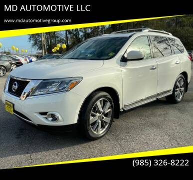 2013 Nissan Pathfinder for sale at MD AUTOMOTIVE LLC in Slidell LA