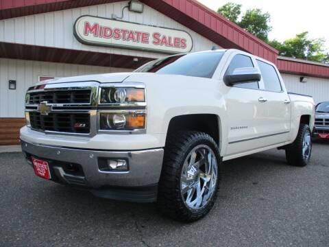 2014 Chevrolet Silverado 1500 for sale at Midstate Sales in Foley MN