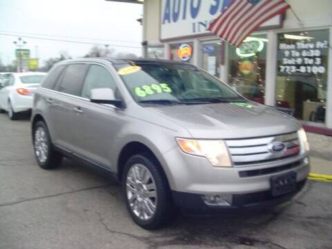 2008 Ford Edge for sale at G & L Auto Sales Inc in Roseville MI