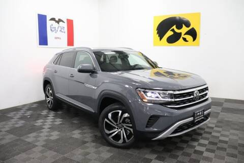 2022 Volkswagen Atlas Cross Sport for sale at Carousel Auto Group in Iowa City IA