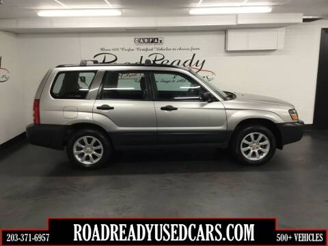 2005 Subaru Forester for sale at Road Ready Used Cars in Ansonia CT