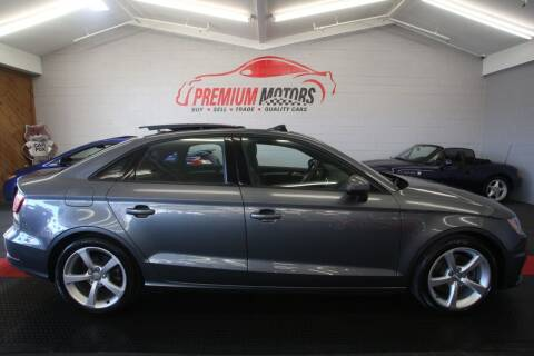 2016 Audi A3 for sale at Premium Motors in Villa Park IL