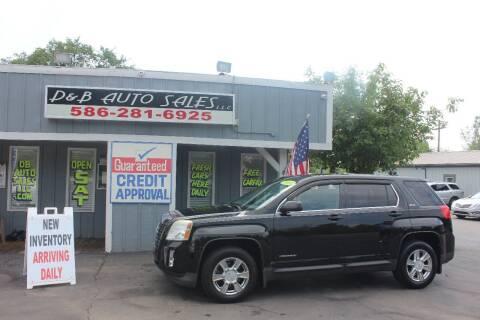 2011 GMC Terrain for sale at D & B Auto Sales LLC in Washington Township MI