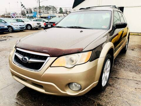 2008 Subaru Outback for sale at Auto Space LLC in Norfolk VA