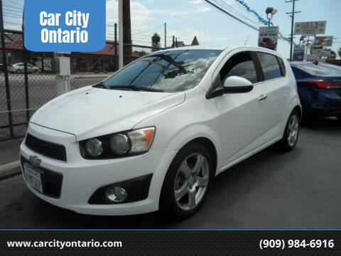 2013 Chevrolet Sonic for sale at Car City Ontario in Ontario CA