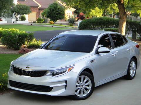 2017 Kia Optima for sale at AZGT LLC in Phoenix AZ
