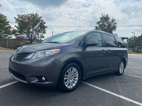 2014 Toyota Sienna for sale at Triple A's Motors in Greensboro NC