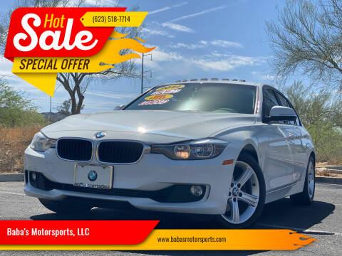 2014 BMW 3 Series for sale at Baba's Motorsports, LLC in Phoenix AZ