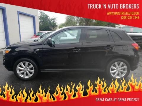 2014 Mitsubishi Outlander Sport for sale at Truck 'N Auto Brokers in Pocatello ID