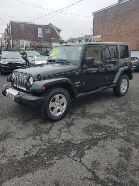2008 Jeep Wrangler Unlimited for sale at Key and V Auto Sales in Philadelphia PA