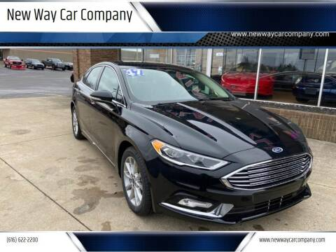 2017 Ford Fusion for sale at New Way Car Company in Grand Rapids MI