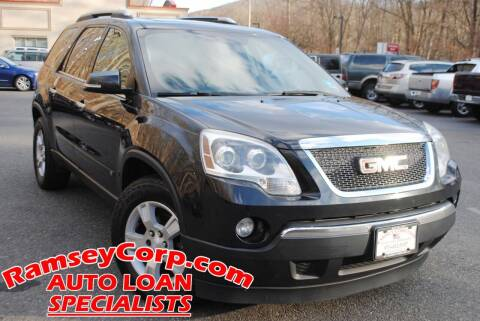 2009 GMC Acadia for sale at Ramsey Corp. in West Milford NJ