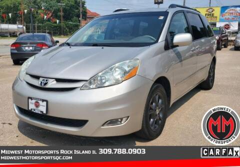 2006 Toyota Sienna for sale at MIDWEST MOTORSPORTS in Rock Island IL