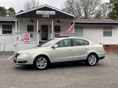 2009 Volkswagen Passat for sale at CVC AUTO SALES in Durham NC
