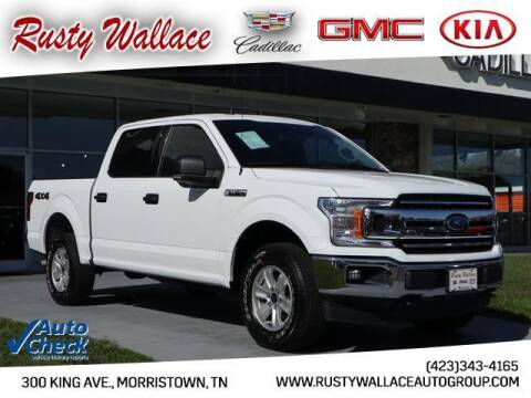 2019 Ford F-150 for sale at RUSTY WALLACE CADILLAC GMC KIA in Morristown TN