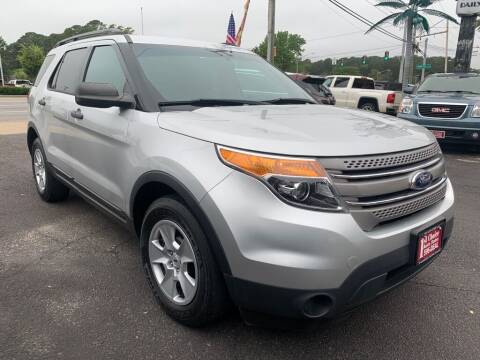 2014 Ford Explorer for sale at 1st Choice Auto Sales in Newport News VA