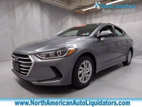 2017 Hyundai Elantra for sale at North American Auto Liquidators in Essington PA