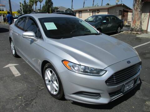 2015 Ford Fusion for sale at F & A Car Sales Inc in Ontario CA