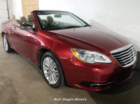 2011 Chrysler 200 Convertible for sale at Matt Hagen Motors in Newport NC