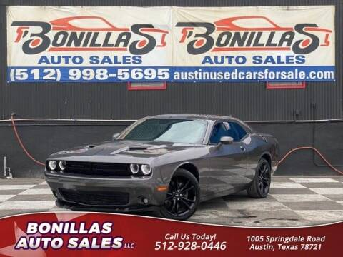 2017 Dodge Challenger for sale at Bonillas Auto Sales in Austin TX