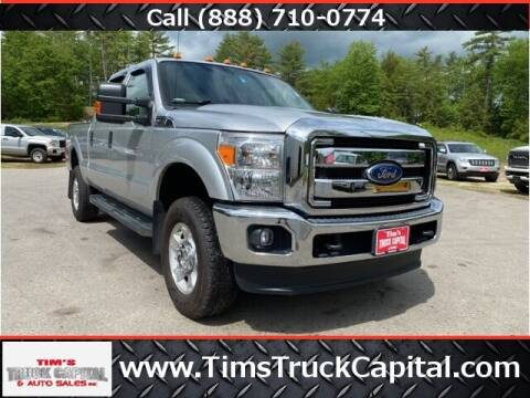 2016 Ford F-250 Super Duty for sale at TTC AUTO OUTLET/TIM'S TRUCK CAPITAL & AUTO SALES INC ANNEX in Epsom NH