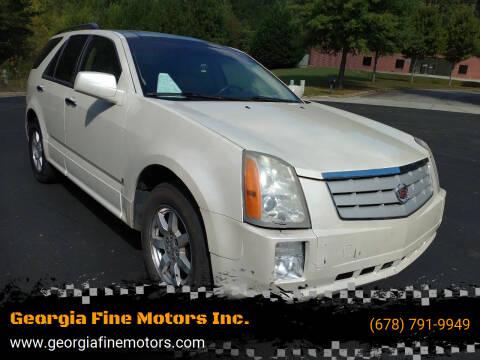 2009 Cadillac SRX for sale at Georgia Fine Motors Inc. in Buford GA