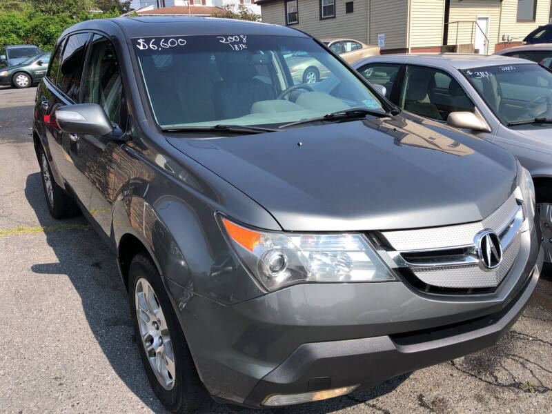 2008 Acura MDX for sale at Matt-N-Az Auto Sales in Allentown PA