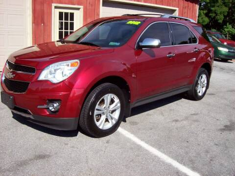 2012 Chevrolet Equinox for sale at Clift Auto Sales in Annville PA