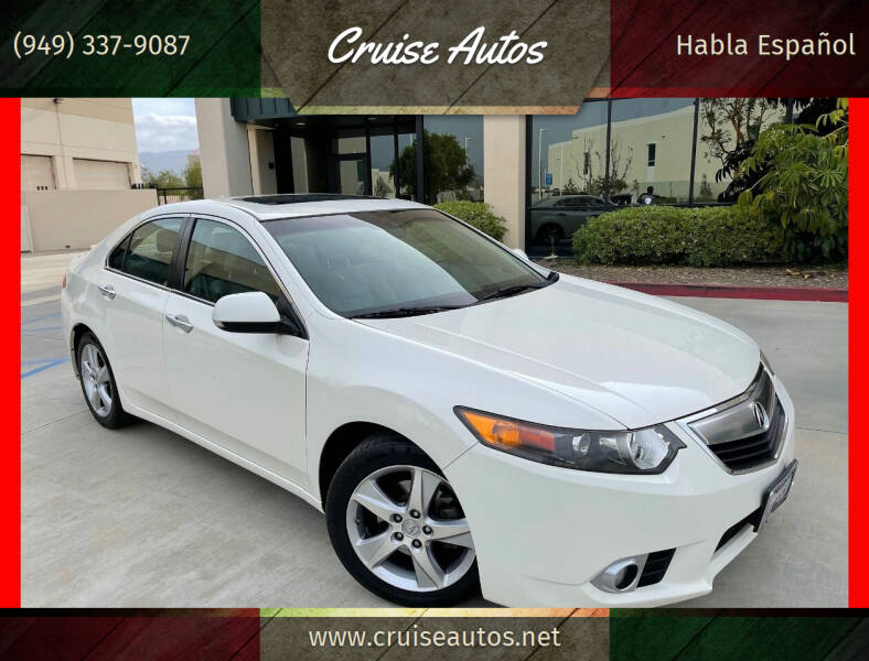 2011 Acura TSX for sale at Cruise Autos in Corona CA